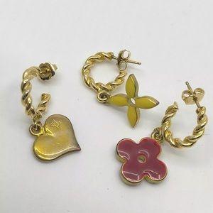 Louis Vuitton  Boucle d'oreille monogram earrings